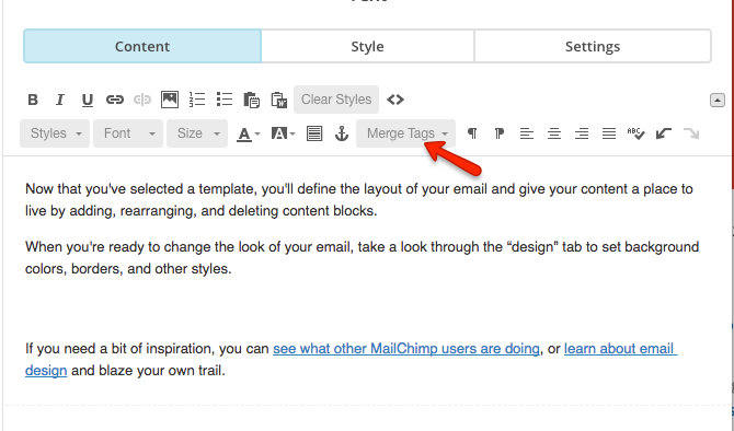 How To Add A Dynamic Date And Time To MailChimp Email Deadline Funnel - Mailchimp template tags