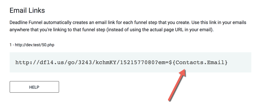 How To Use Deadline Funnel Email Links With Zoho Deadline