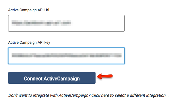Getting The Activecampaign Api Key To Work