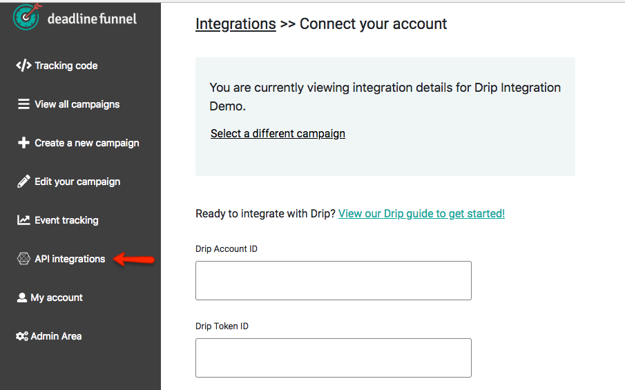 How to Integrate Deadline Funnel with Drip (API) - Deadline Funnel