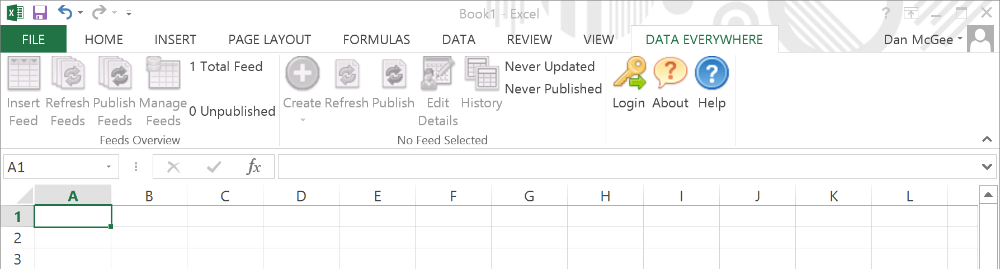 Functionality Overview of the Excel Add-In 1
