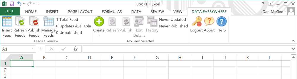 Functionality Overview of the Excel Add-In 2