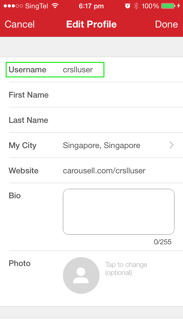 How can I change my username? - Carousell Help - Frequently Asked
