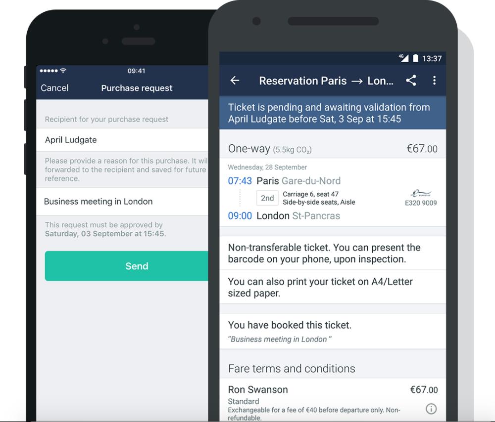 the train line mobile app