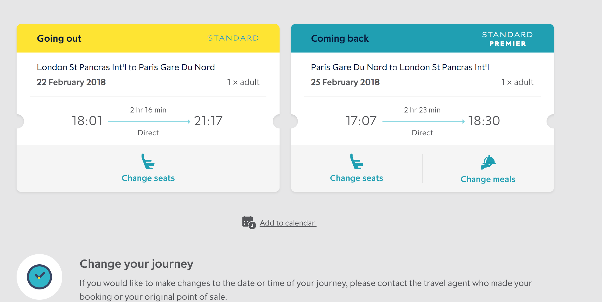 Can I change my seats? - Trainline Help (FAQ)