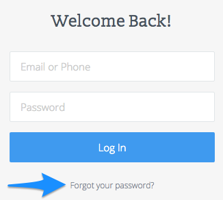 How to find out what your email password is