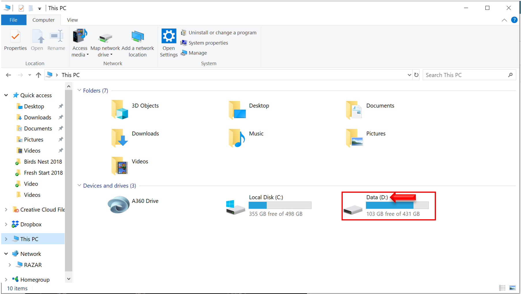 Save to USB and copy show files to USB drive on a PC