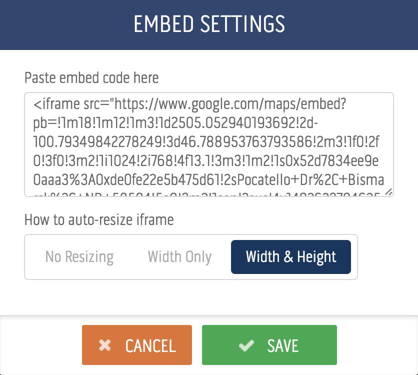How to embed content - eCatholic Help Center