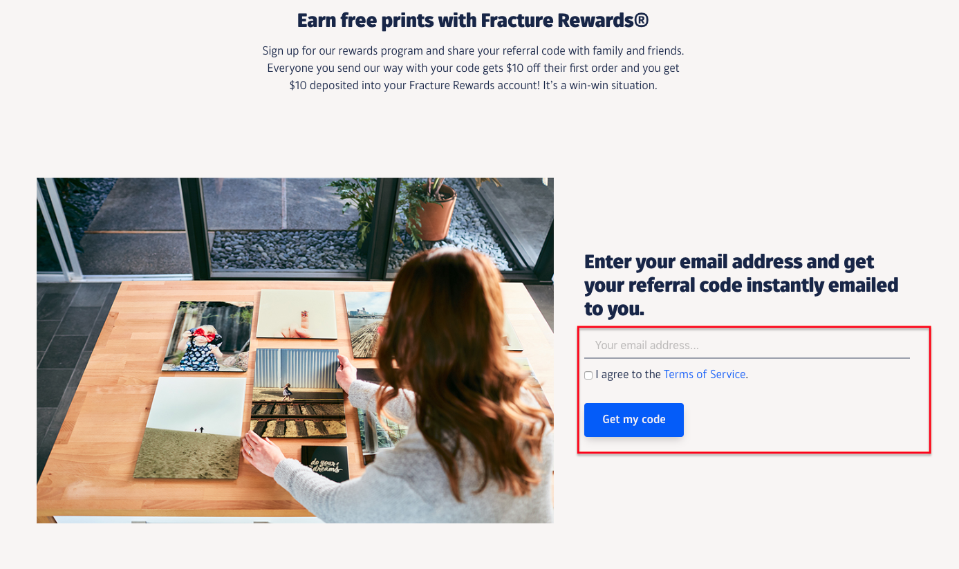 How Can I Get Free Prints Fracture Help Center