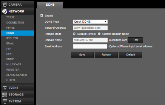 QuickDDNS Quick Start Guide (720P HD-CVI) – Amcrest
