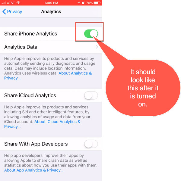How to setup your iPhone for troubleshooting - HT Pro Support