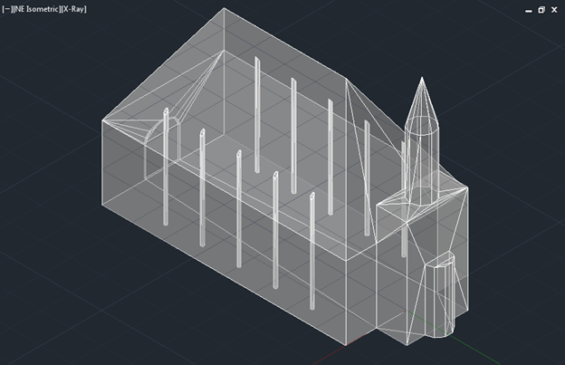 Import an AutoCAD drawing that contains 3D objects  - AFMG