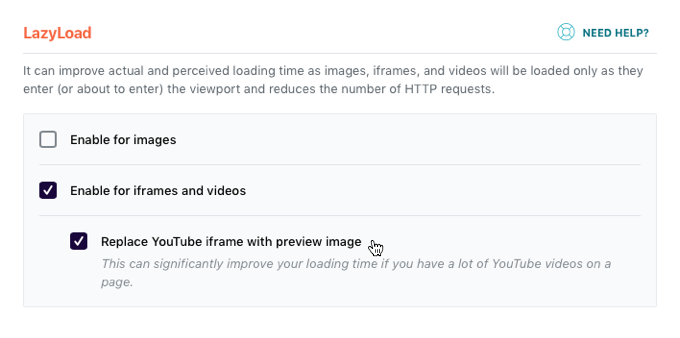 Choose YouTube Preview Image Resolution - WP Rocket Knowledge Base
