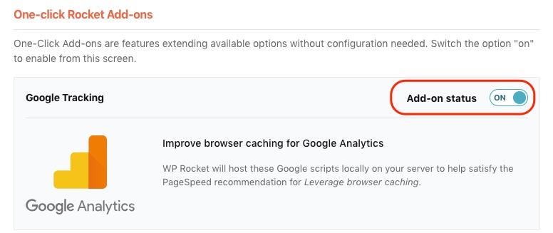 Google Tracking Add On Documentation Wp Rocket