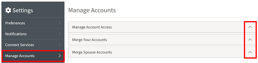 Manage Accounts - MPDX Help