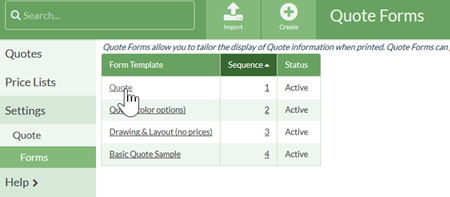 duplicate a quote form template moraware countergo help