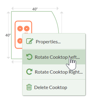 Rotate Cooktop