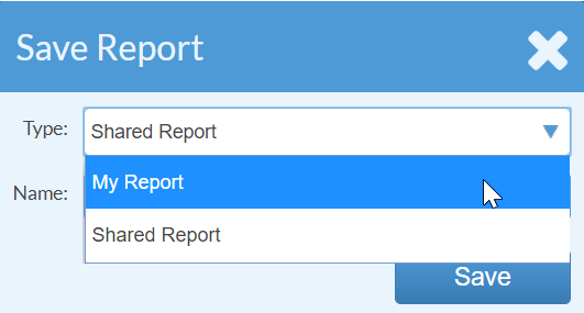 Select Report Example