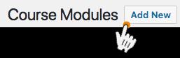 Een module maken