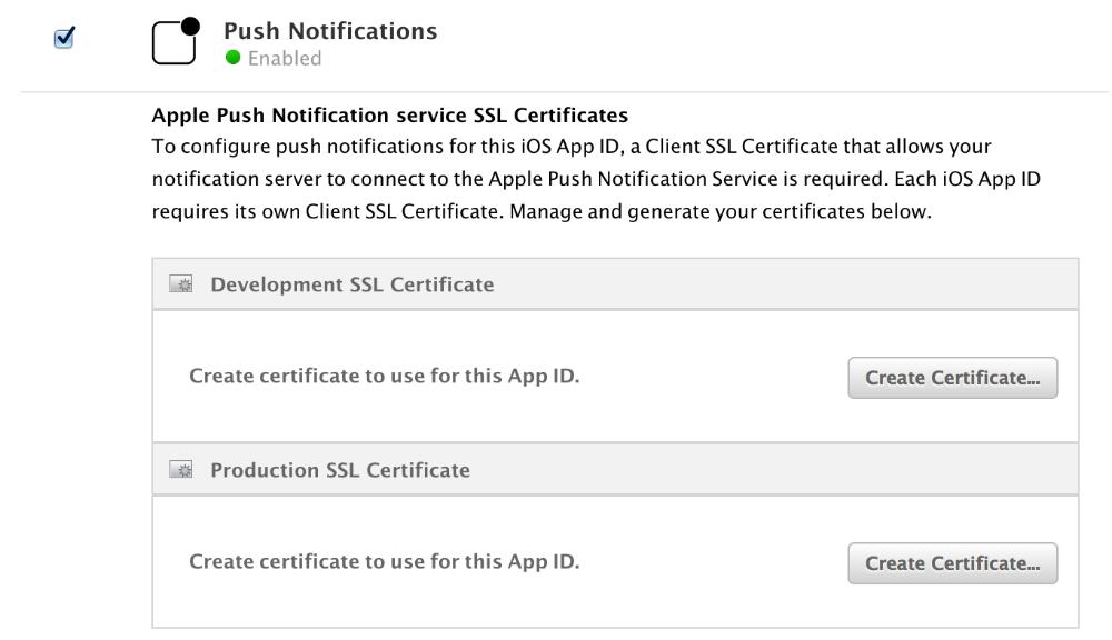 iOS Push Notifications - AppPresser Docs