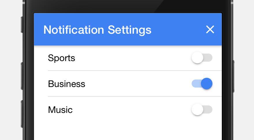 Segmented Notifications - AppPresser Docs