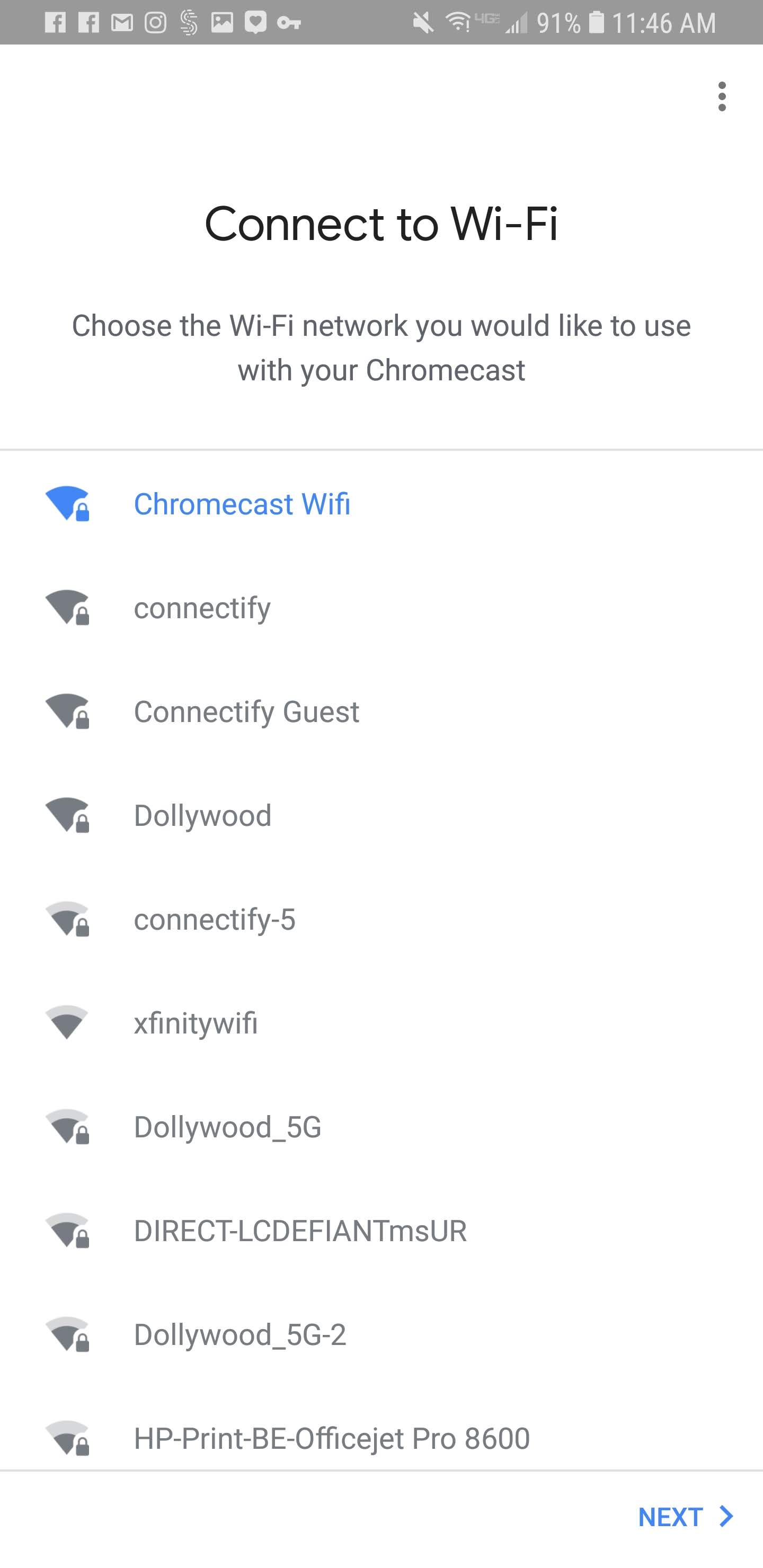 How to Connect a Chromecast to Connectify Hotspot