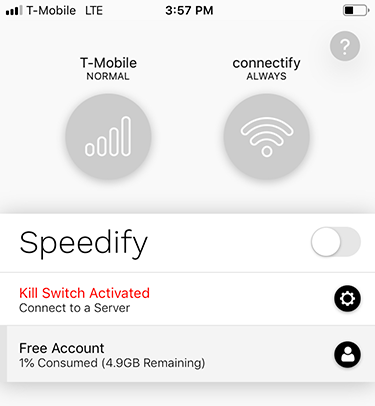 Kill Switch (iOS) - Speedify Mobile