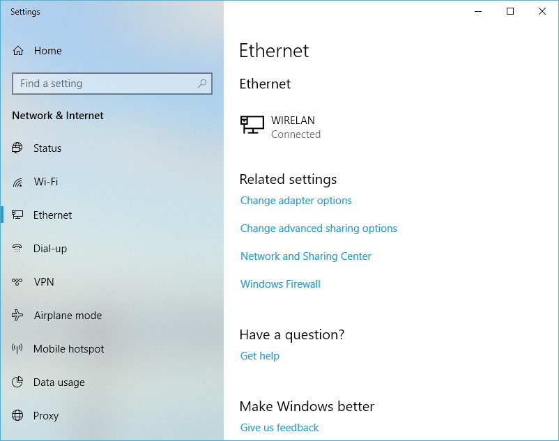Wired Ethernet Connection | How To Connect Your Pc To Wired Ethernet Speedify Knowledge Base