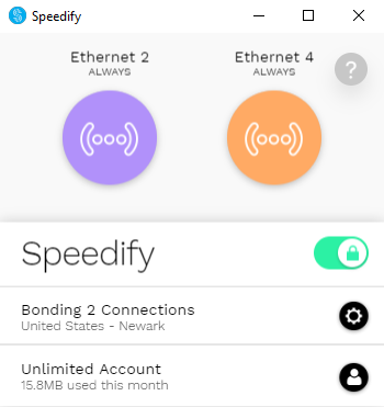 How to Combine Two Ethernet Connections on PC - Speedify Knowledge Base
