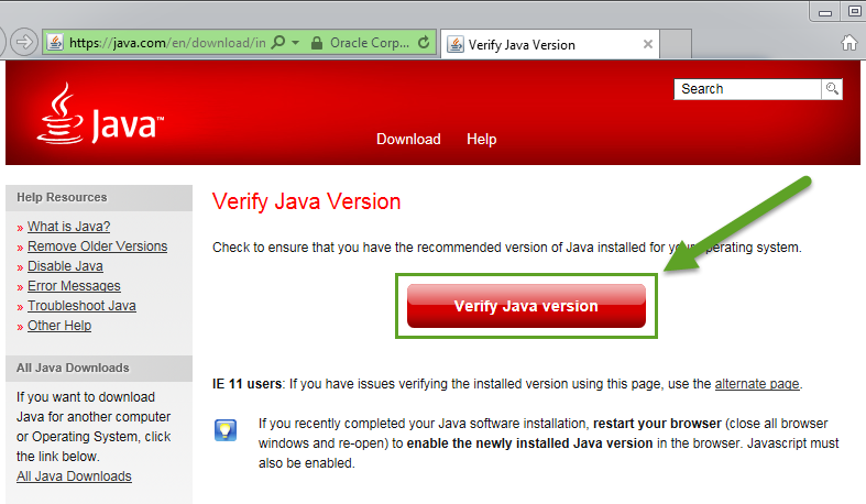Installing Java - EquityFeed Support