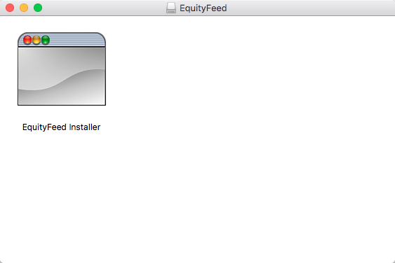 How to Install EquityFeed (Mac) - EquityFeed Support