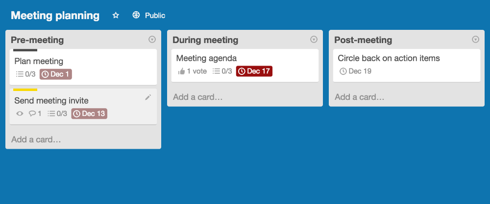 Using the Card Aging Power-Up - Trello Help