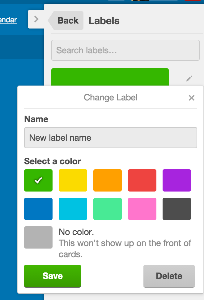 Editing Labels On A Board Trello Help