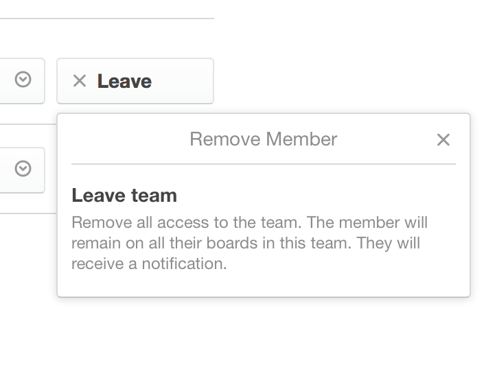 removing people from a team trello help