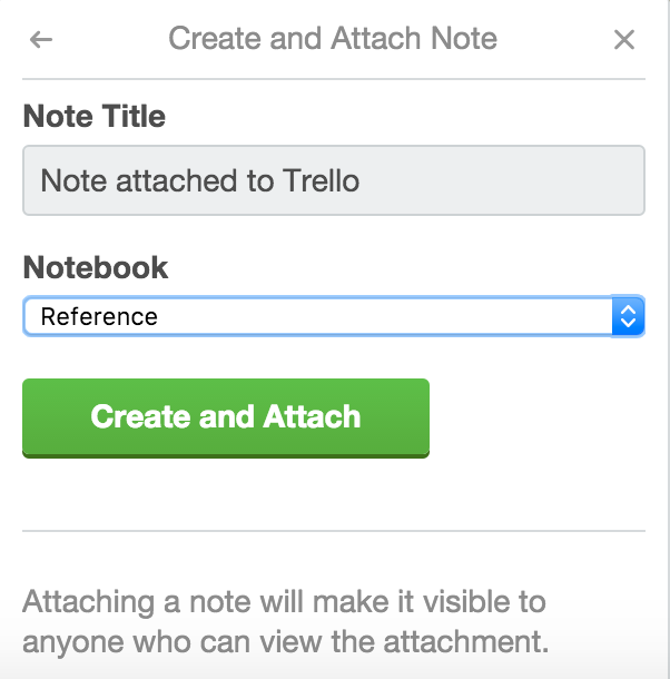 Using the Evernote Power-Up - Trello Help
