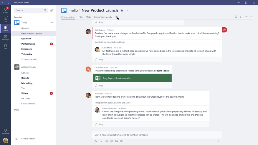 The Trello App for Microsoft Teams - Trello Help