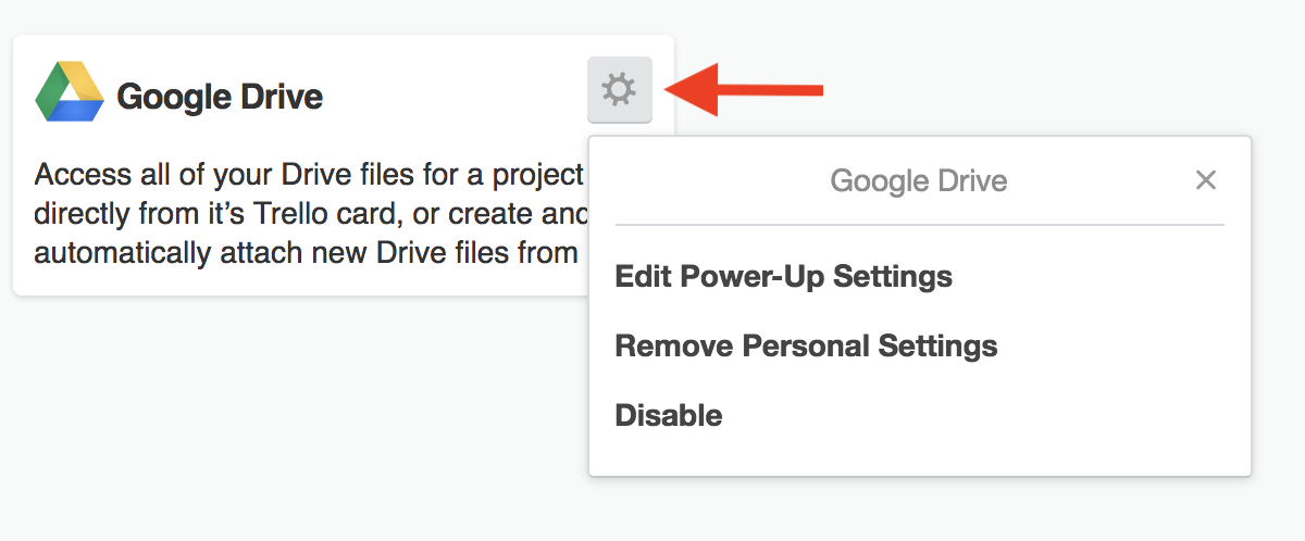 Using the Google Drive Power-Up - Trello Help