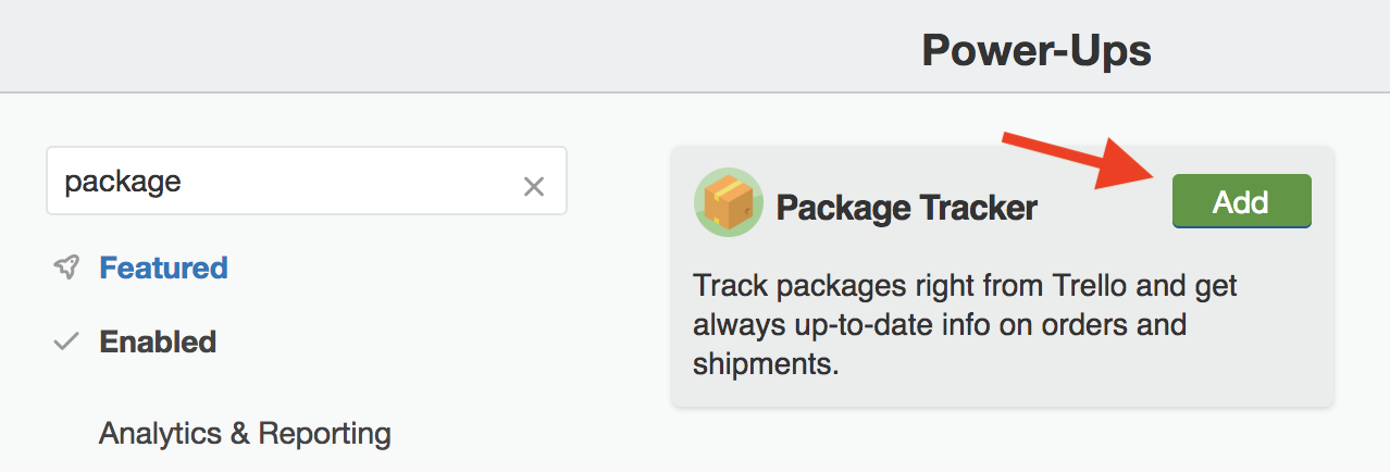 Using the Package Tracker Power-Up - Trello Help