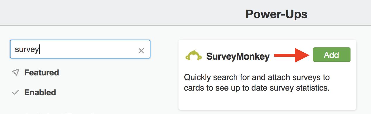 Using the SurveyMonkey Power-Up - Trello Help