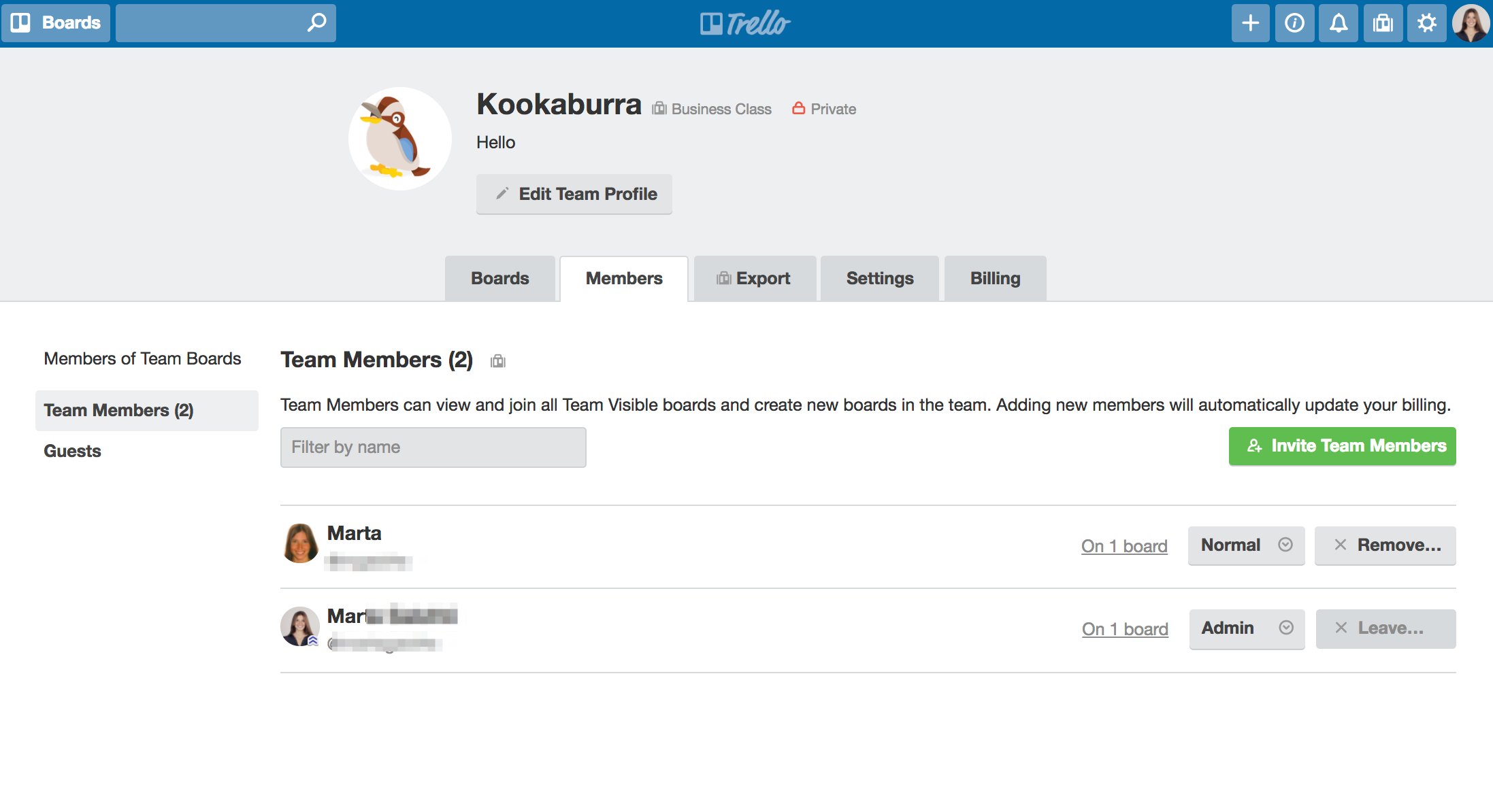 Setting up your Business Class team - Trello Help