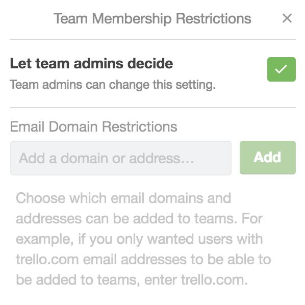 Enterprise Wide Permissions - Trello Help