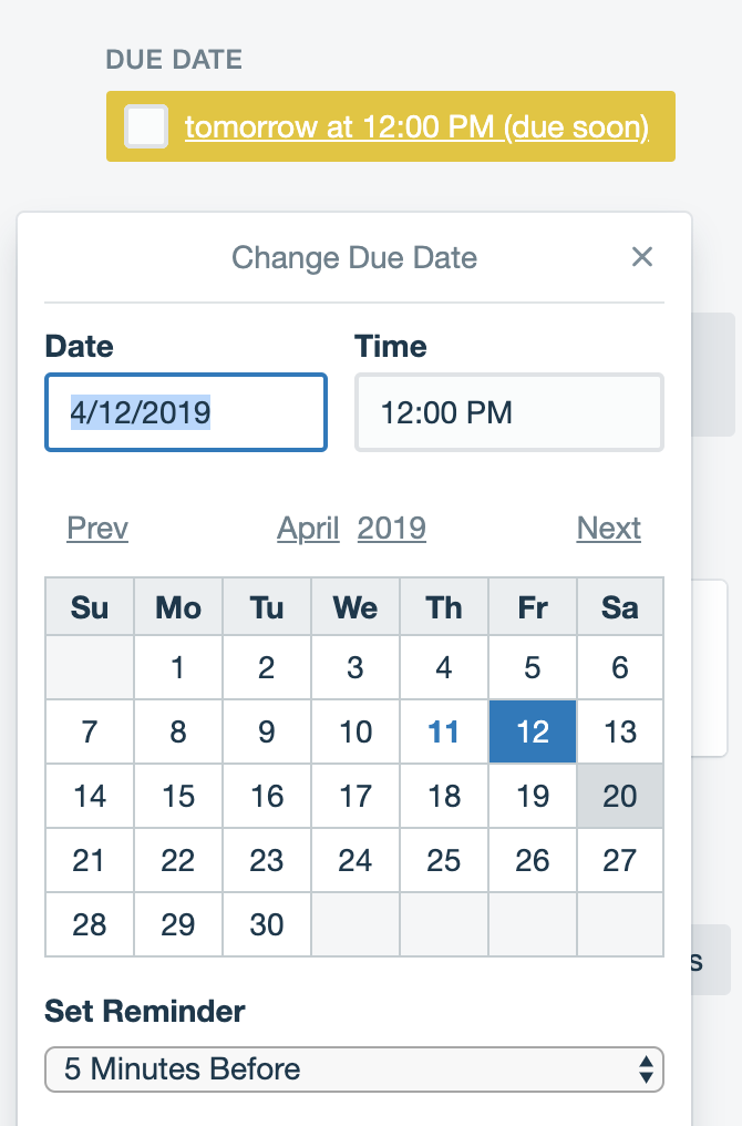 Adding due dates to cards - Trello Help