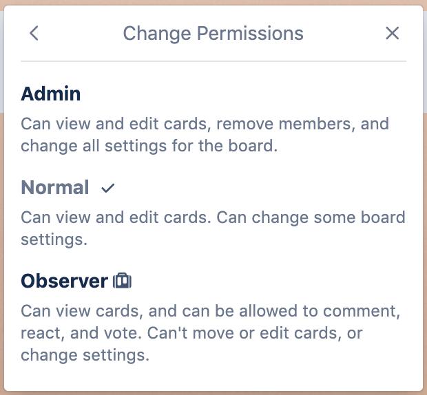 Making a user an admin of a board - Trello Help