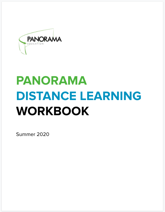 Panorama's Distance Learning Workbook
