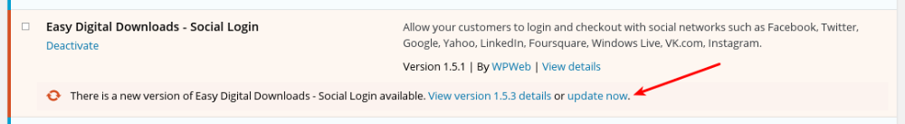 How do I get updates for extensions? - Easy Digital Downloads