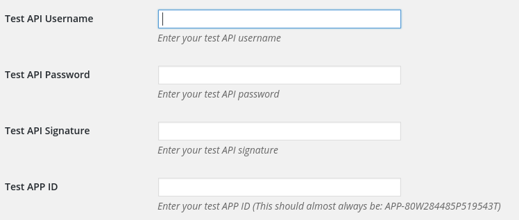 Modify API Credentials in the Account Settings.