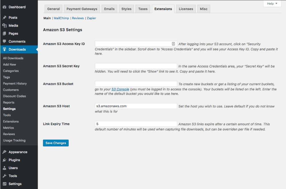 Amazon S3 - Overview - Easy Digital Downloads