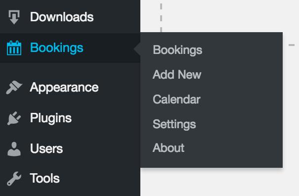 Easy Digital Downloads Bookings Addon