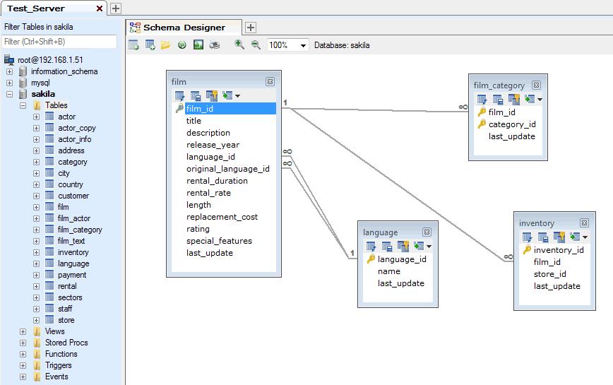 The SQLyog Schema Designer - SQLyog Knowledge Base