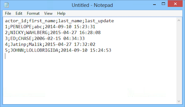 Copy Result To Clipboard - SQLyog Knowledge Base